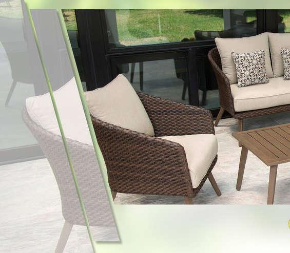 Conjunto mesa y sillones jard n en playa del carmen for Tiendas de muebles en cancun