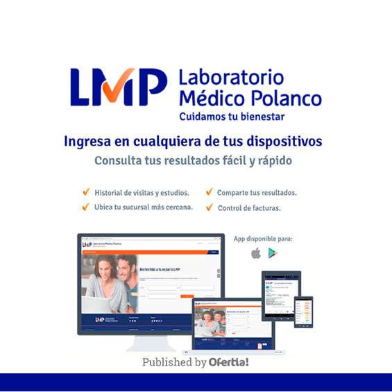 Ofertas de Laboratorio Médico Polanco, Consultas rápidas y fáciles