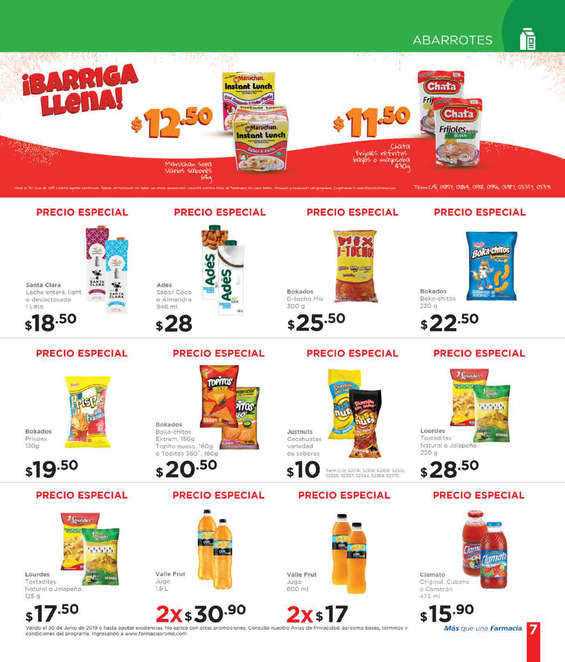 Ofertas de Farmacias Roma, Folleto junio 2019