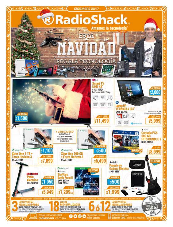 Ofertas de Radio Shack, Esta Navidad regala tecnología