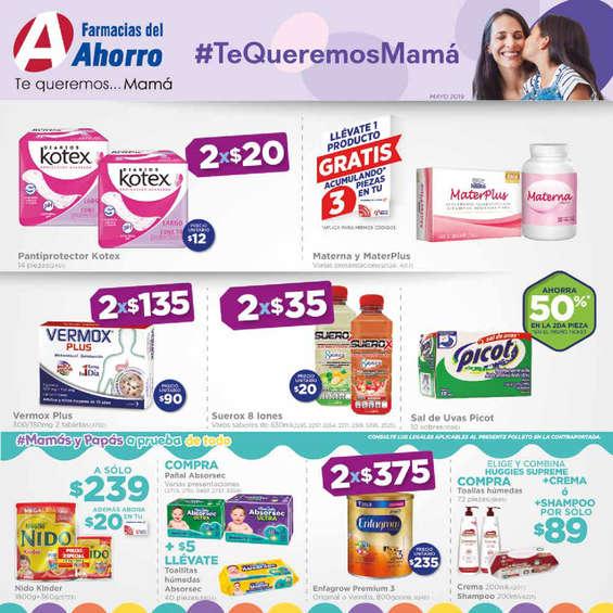 Ofertas de Farmacias del Ahorro, #Tequeremosmamá