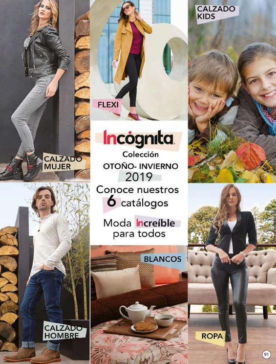 Ofertas de Incógnita, Catálogo Incógnita Blancos Otoño Invierno 2019