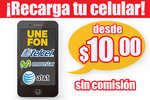 Ofertas de Tiendas Tres B, Recarga tu celular sin comisión