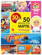 Ofertas de Woolworth, Mattel: 50% de descuento | CDMX