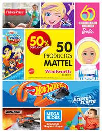 Mattel: 50% de descuento   CDMX