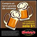 Ofertas de Shakey's Pizza, Tarro 1 peso