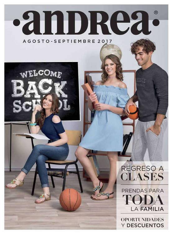 Ofertas de Andrea, Back to school Agosto Septiembre 2017