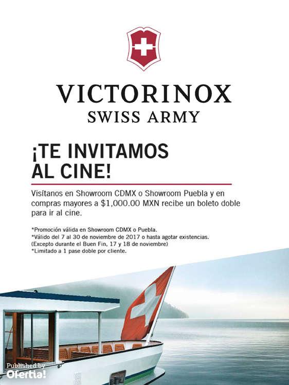 Ofertas de Victorinox, Te Invitamos Al Cine