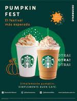 Ofertas de Starbucks, Pumpkin Fest