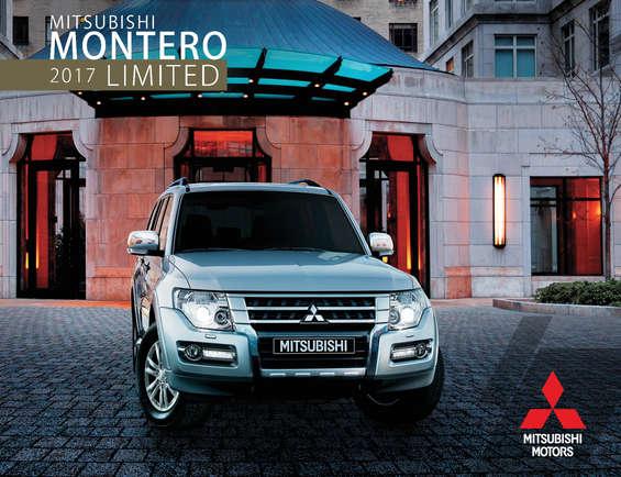 Ofertas de Mitsubishi Motors, Montero-Limited_2017