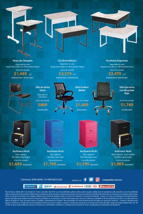 Ofertas de CompuDabo, Piensa en tecnología piensa en Compudabo