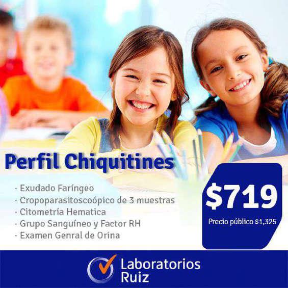 Ofertas de Laboratorios Ruiz, Perfil Chiquitines