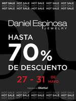 Ofertas de Daniel Espinosa, Hot Sale hasta 70% de dto