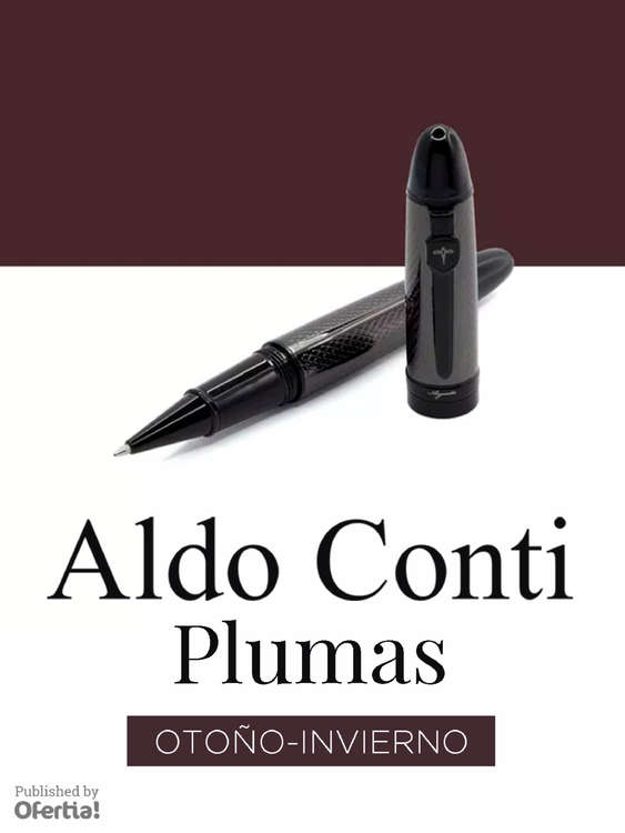 Ofertas de Aldo Conti, Plumas Otoño-Invierno