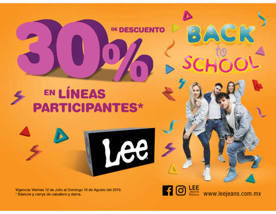 Ofertas de Famsa, Back to school