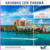 Bahamas con Panamá