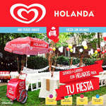 Ofertas de Helados Holanda, Helados en tu fiesta