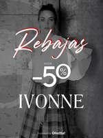 Ofertas de Ivonne, Rebajas hasta 50%
