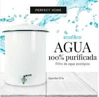 Filtro de agua ecológico