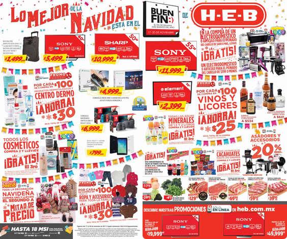 Ofertas de H-E-B, Lo Mejor de la Navidad está en el Buen Fin de H-E-B