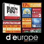 Ofertas de D'Europe, Buen Fin D´europe