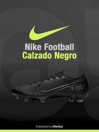 Nike Football Calzado Negro