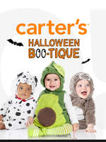 Ofertas de Carter's, Halloween Bootique