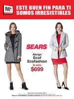 Ofertas de Sears, Este Buen Fin para ti somos irresistibles - Moda