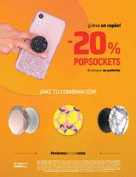 Promoción cupón popsockets