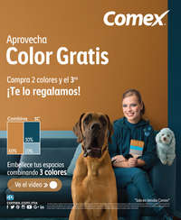 Aprovecha color gratis