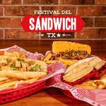 Ofertas de Texas Ribs, El Festival del Sandwich llegó a Texas Ribs