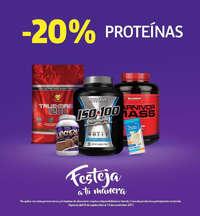 -20% Proteínas