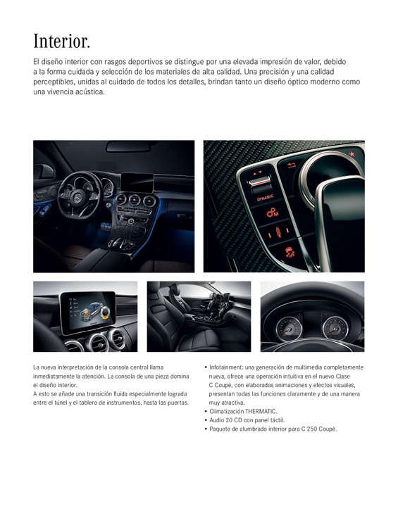 Ofertas de Mercedes-Benz, Clase C Coupe