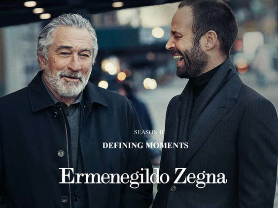 Ofertas de Ermenegildo Zegna, Defining Moments