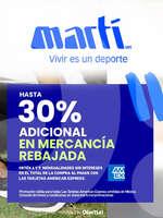Ofertas de Martí, AMEX - Hasta 30% adicional