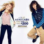 Ofertas de Aeropostale, Aero Cash