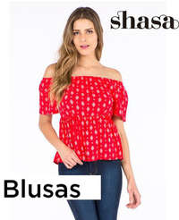 Shasa blusas