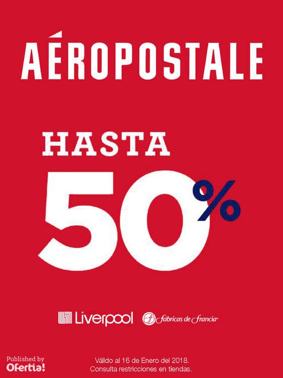 Ofertas de Aeropostale, Rebajas 50% Descuento