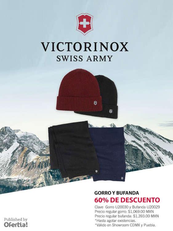 Ofertas de Victorinox, Gorro y Bufanda
