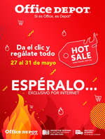 Ofertas de Office Depot, Hot Sale Espéralo...