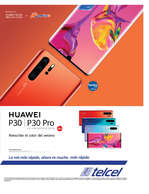 Ofertas de Telcel, Huawei P30 & P30 PRO