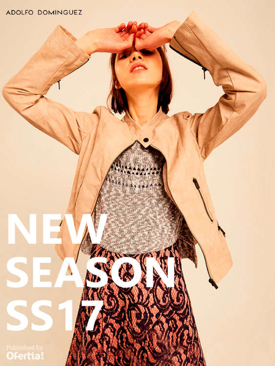 Ofertas de Adolfo Dominguez, New Season SS17