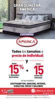 Ofertas de Fábricas de Francia, Gran Quincena América