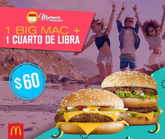 Ofertas de McDonald's, Martes de Mc Donald's