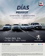 Ofertas de Peugeot, Días Imperdibles Buen Fin
