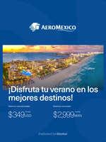 Ofertas de Aeromexico, Los mejores destinos para el verano