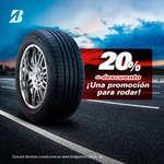 Ofertas de Bridgestone, 20% de descuento