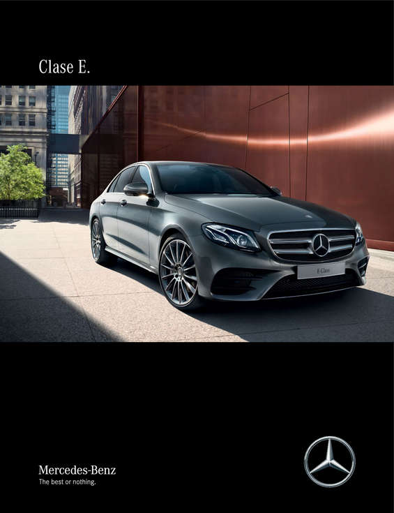 Ofertas de Mercedes-Benz, Catálogo Clase E
