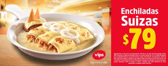 Ofertas de Vips, Enchiladas Suizas $79.00