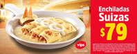 Enchiladas Suizas $79.00
